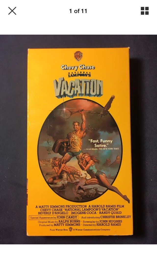 Vintage National Lampoons Vacation VHS Movie 1986 Release