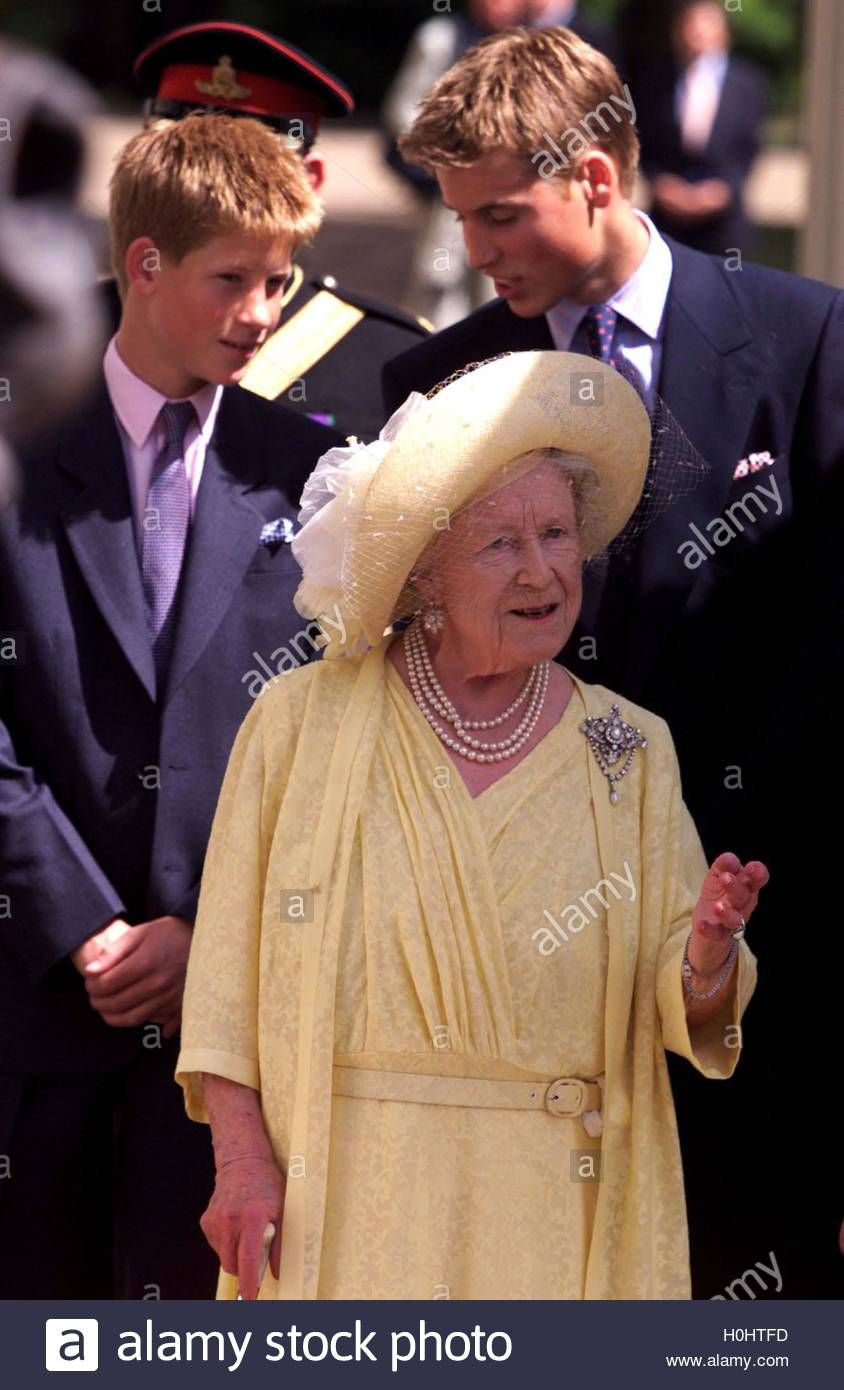 Download this stock image The Queen Mother, the 101year