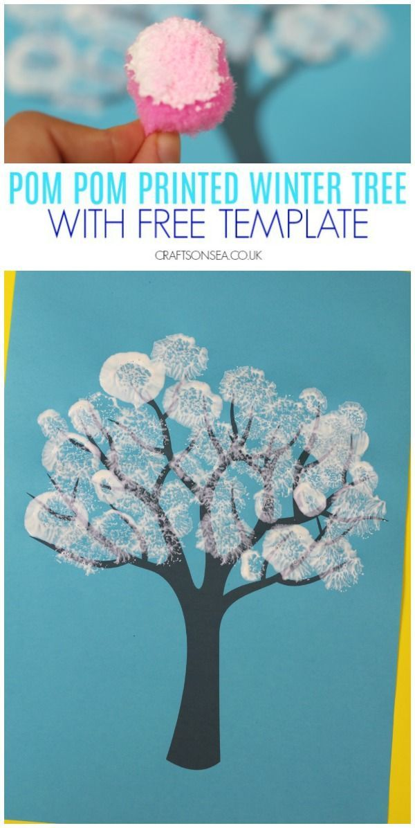 Photo of Winter Tree Painting Ideas for Kids