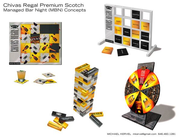 Seagram's Brands POP & Packaging on Behance