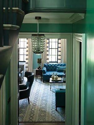 Art Deco In Mint Green Evtl auch Nähidee: Jugendstil vorhang-Stücke an normale Vorhänge in Beige anstückeln?