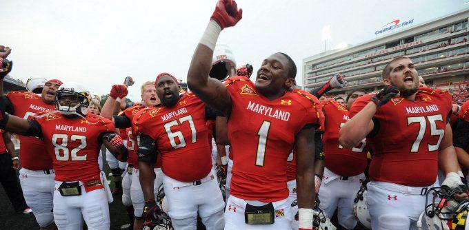 University Of Maryland Football University Of Maryland Maryland Maryland Terrapins