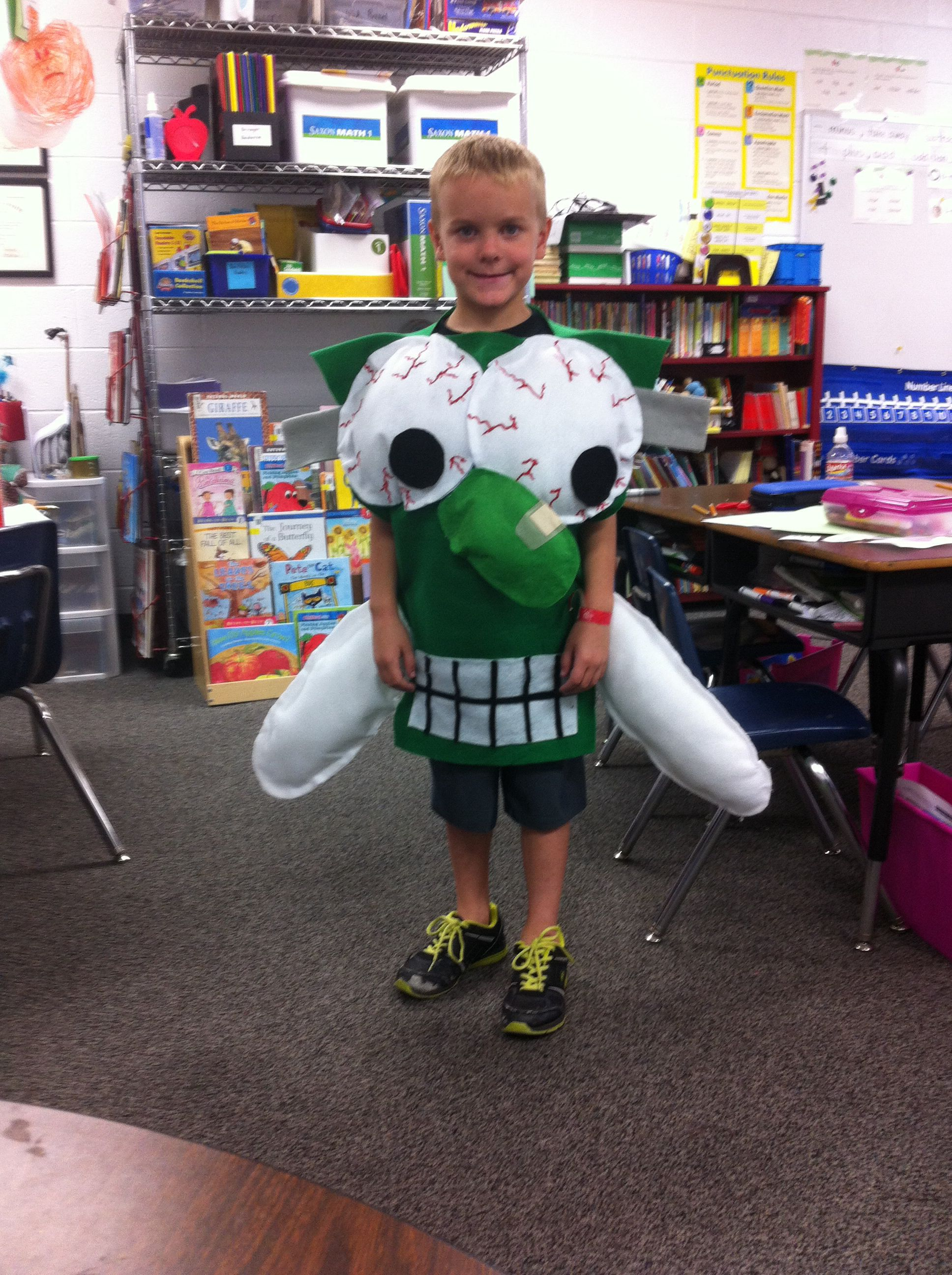 Fly Guy And The Frankenfly Costume