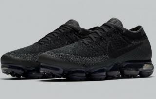 Triple Black  Nike Air VaporMaxes Are Releasing on June 22.   24d26f63cbb
