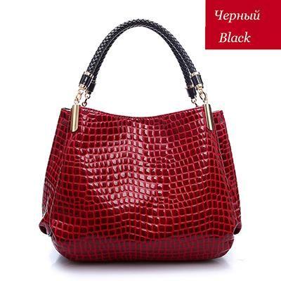 Photo of Famous Designer Brand Bags Women Leather Handbags 2018 Luxury Ladies Hand Bags Purse Fashion Shoulder Bags Bolsa Sac Crocodile
