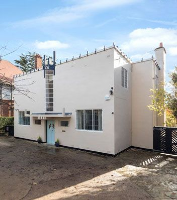 peter behrens designed new ways art deco house in northampton northamptonshire also rare modernist home full of history for sale on hayling island rh pinterest
