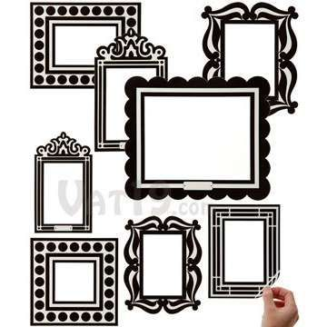 photo frame wall decal | Wall Imagination | Pinterest | Wall decals ...