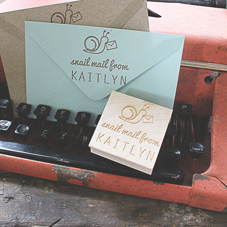 Outgoing mail never looked so darling snailmail