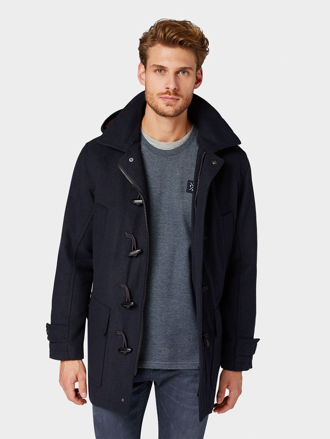 Www.tom Tailor Online Shop.de Duffle Coat For 149 99 Instead Of 169 99 Order Now At Tom
