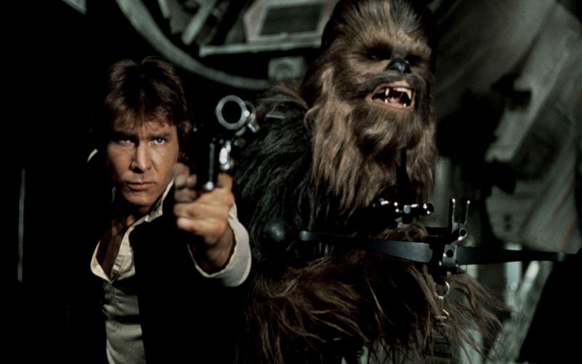 Han Solo Chewbacca Star Wars Episode Iv Star Wars Episode Iv Han Solo And Chewbacca Star Wars Chewbacca