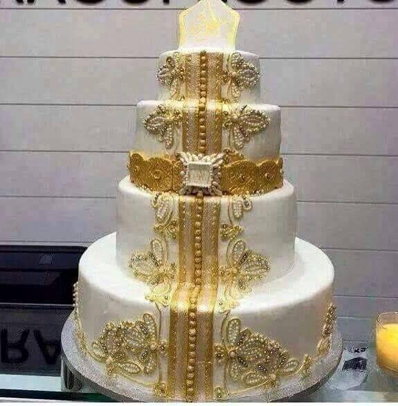 Caftan Cake Moroccan Fashion Gateau Fiancaille