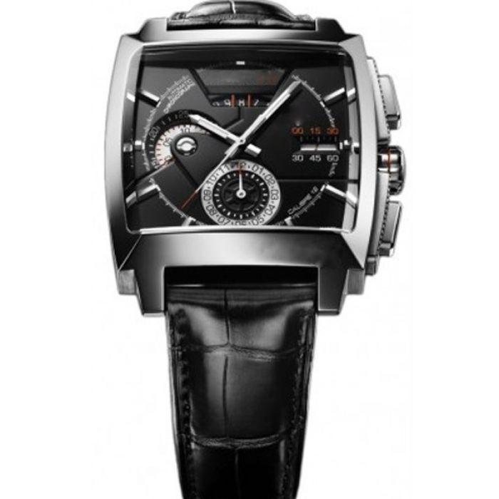 ab353be618d Relógio de pulso quadrado preto