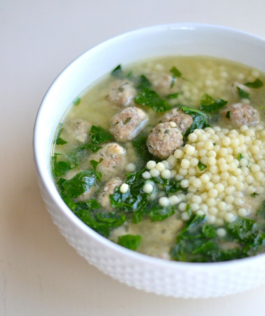 Best Italian Wedding Soup Ever Great Idea Making Extra Meat And Freezing Them For Another