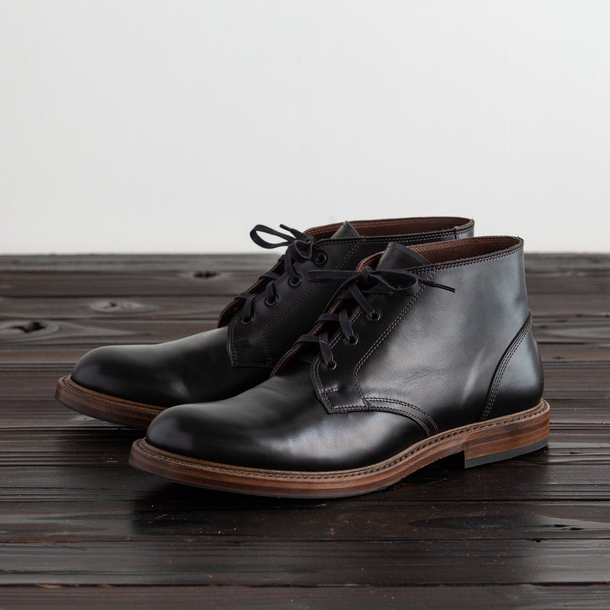 Steadfast Chukka Boot - Black French