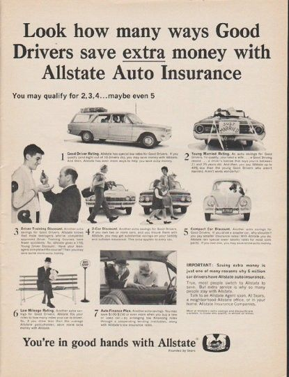 1965 Allstate Insurance Vintage Ad Many Ways Vintage Banking
