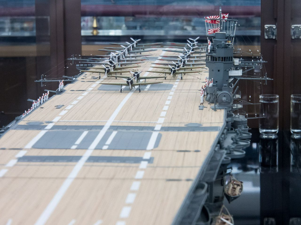 Aircraft carrier models large scale - Japanese Aircraft Carrier Akagi 1 100 Scale
