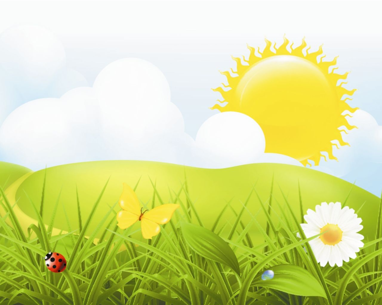 удостоверение рисунок лето солнце квартира после ремонта