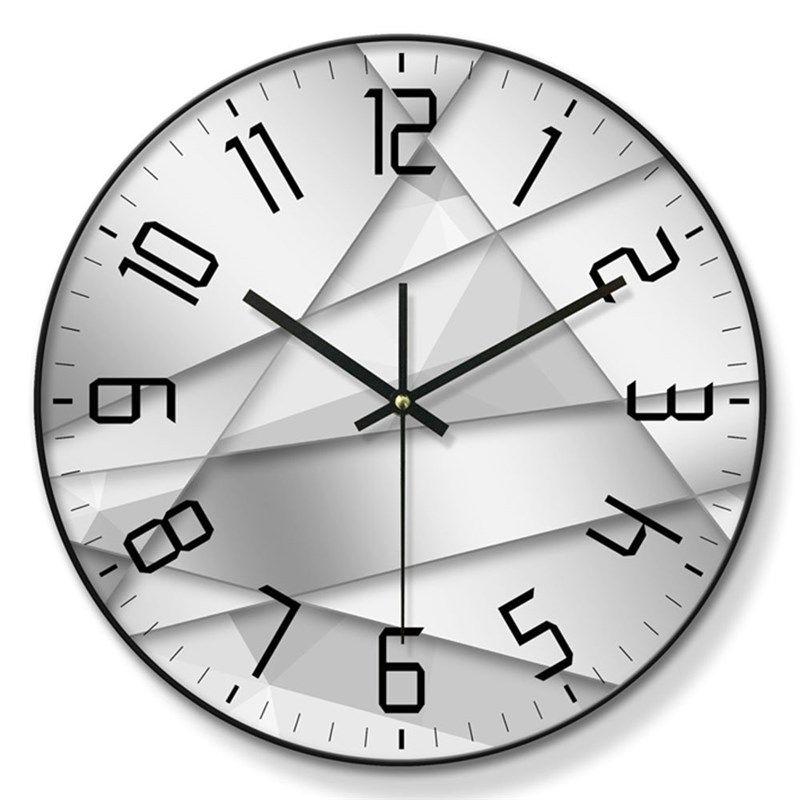 Special Designer Wall Clock Metal Pvc Edge Mute Wall Clock 12inch Wall Clock Metal Wall Clock Clock