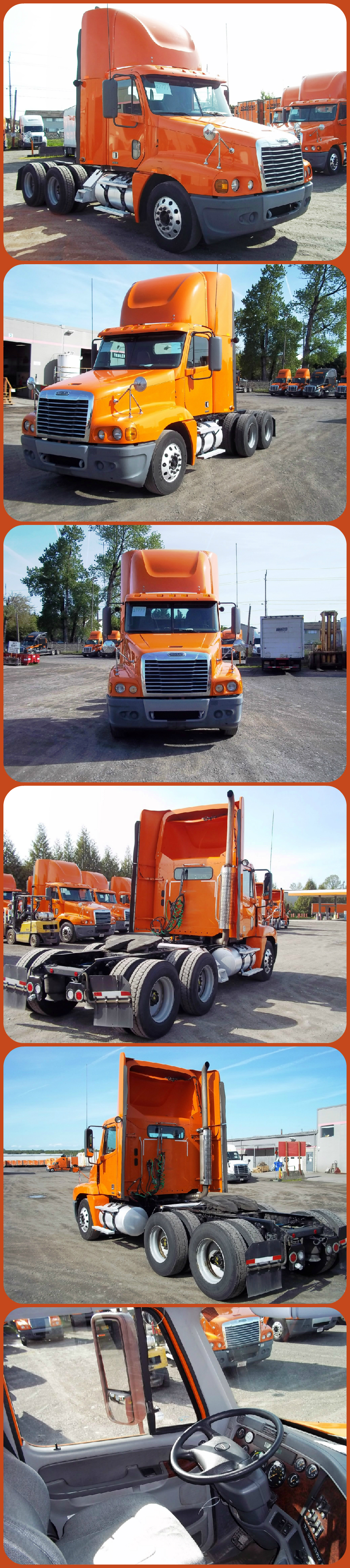 Clearance Sale 07 Freightliner C120 Day Cab W 446k Miles Was 31 300 Now 26 605 Save 4 695 Http Used Trucks Freightliner Used Trailers For Sale