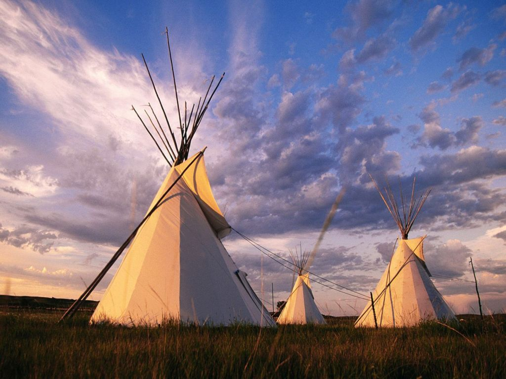 teepee at sun set teepee sunset nature camping living with