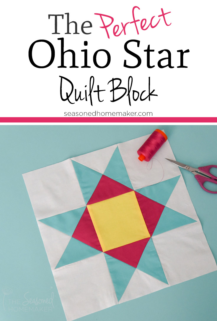 Learn How To Make A Perfect Ohio Star Quilt Block