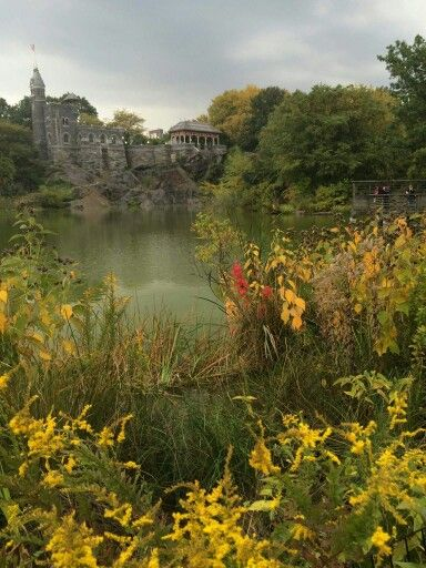 Belvedere Castle from Turtle Pond in Central Park -- Gorgeous!!