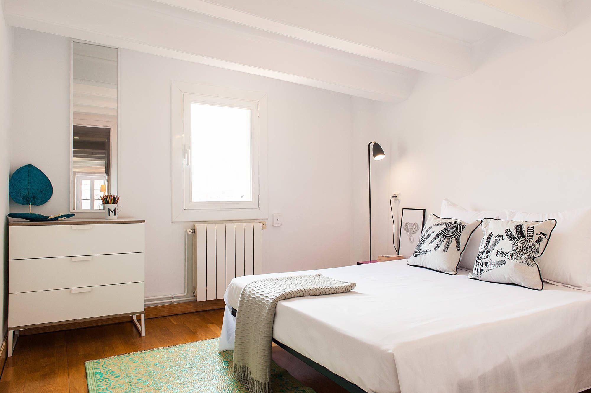 Dormitorio En Blanco Para Invitados Dormitorios De Estilo  # Muebles Modernos Diga Center