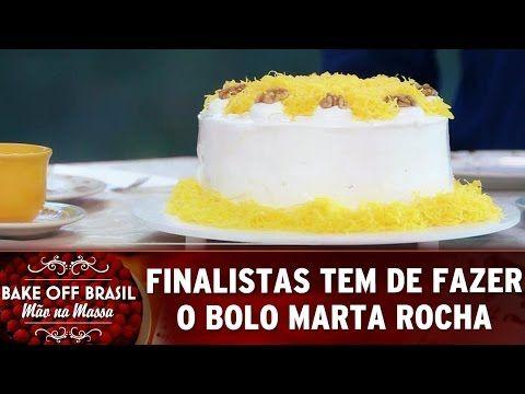 Bake Off Brasil 27 08 16 Bolo Marta Rocha E O Grande Desafio