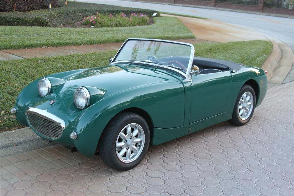1960 Austin Healey Sprite Convertible Not A Mustang But Still