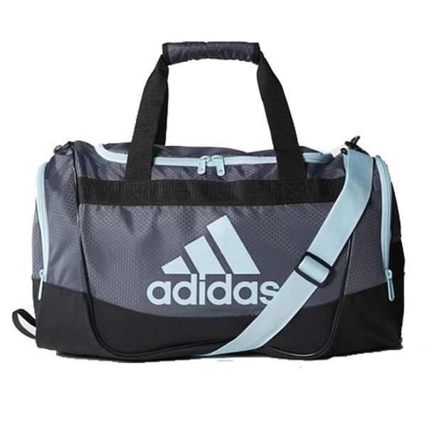 Adidas Small Defender Duffel Bag Grey Adidas Duffle Bag Duffle