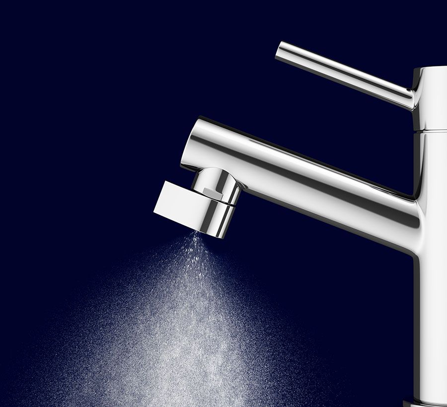 Altered:Nozzle Conserves 98% of the Water You Use Through It | Water ...