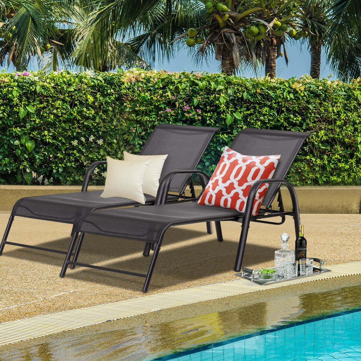 Patio & Garden in 2020 Patio lounge chairs, Patio lounge