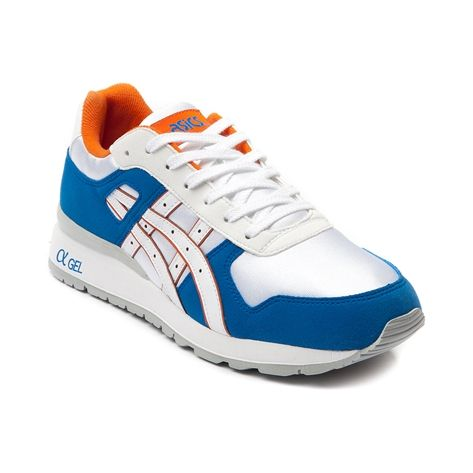 Shop for Mens Asics GT II Athletic Shoe in White Blue Orange at Journeys  Shoes.