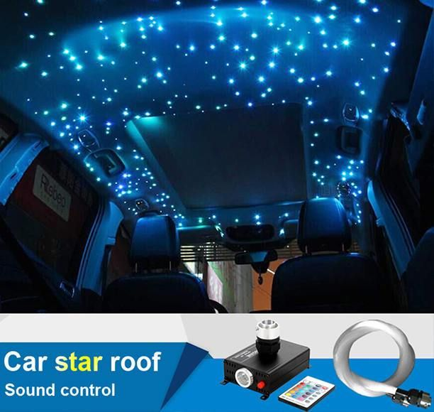 Car star roof light rolls royce car lights bling car - Illegal to have interior car lights on ...