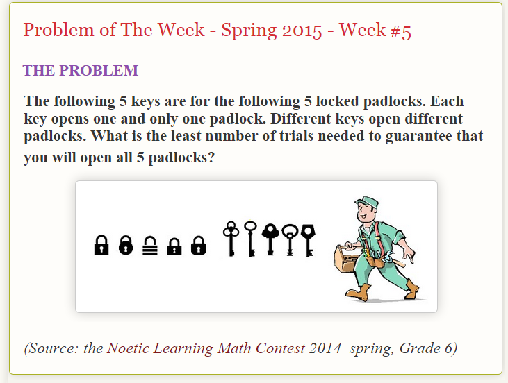 noetic math sample questions for fourth grade