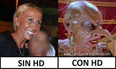 Prefiero la tv. apagada SENORITA LAURA !! LOL