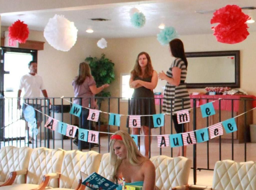 twin baby girl shower ideas - Google Search