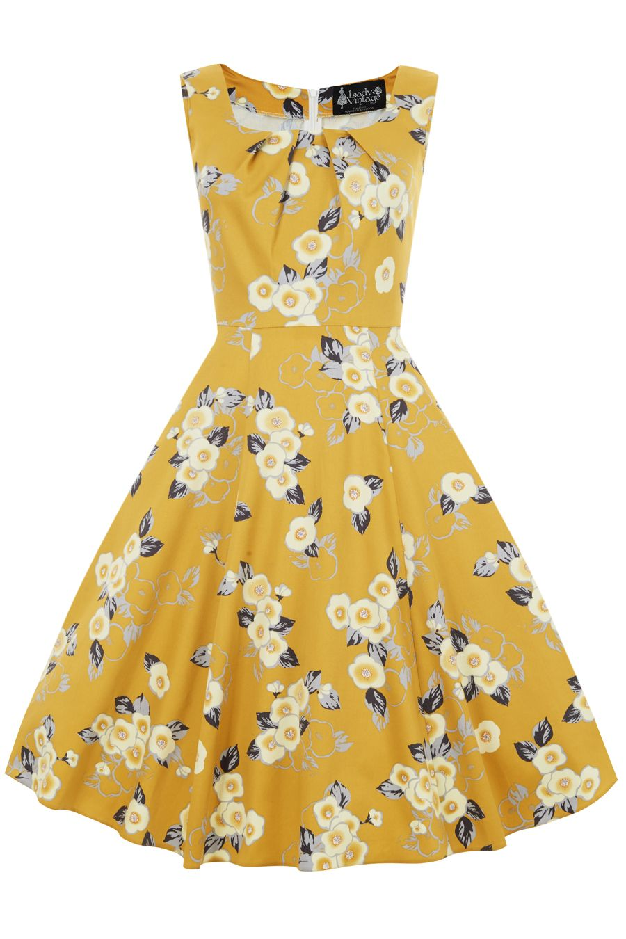 Yellow Floral Jasmine Dress | Jasmine, Yellow floral dress and ...