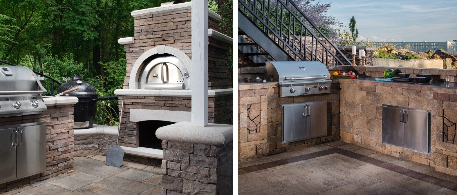 Find out whatus cooking in the latest outdoor kitchen design trends