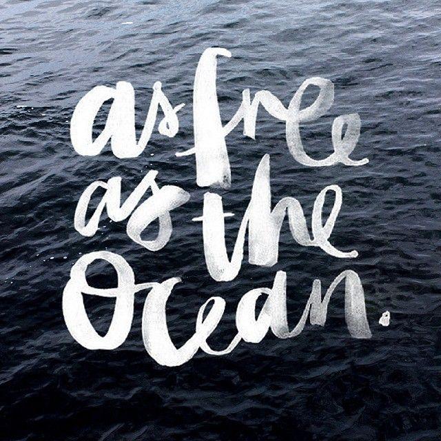 Картинки про океан с надписями, днем