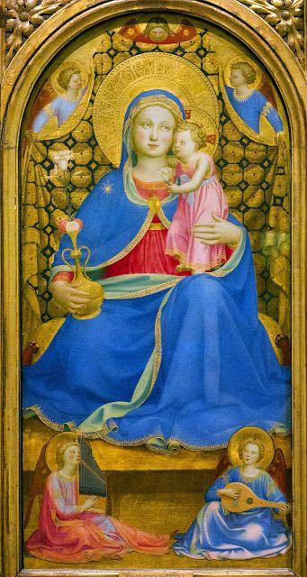 """Virgen de la Humildad (Giovanni da Fiesole """"Fra Angelico"""") by Arte-Paisaje"""