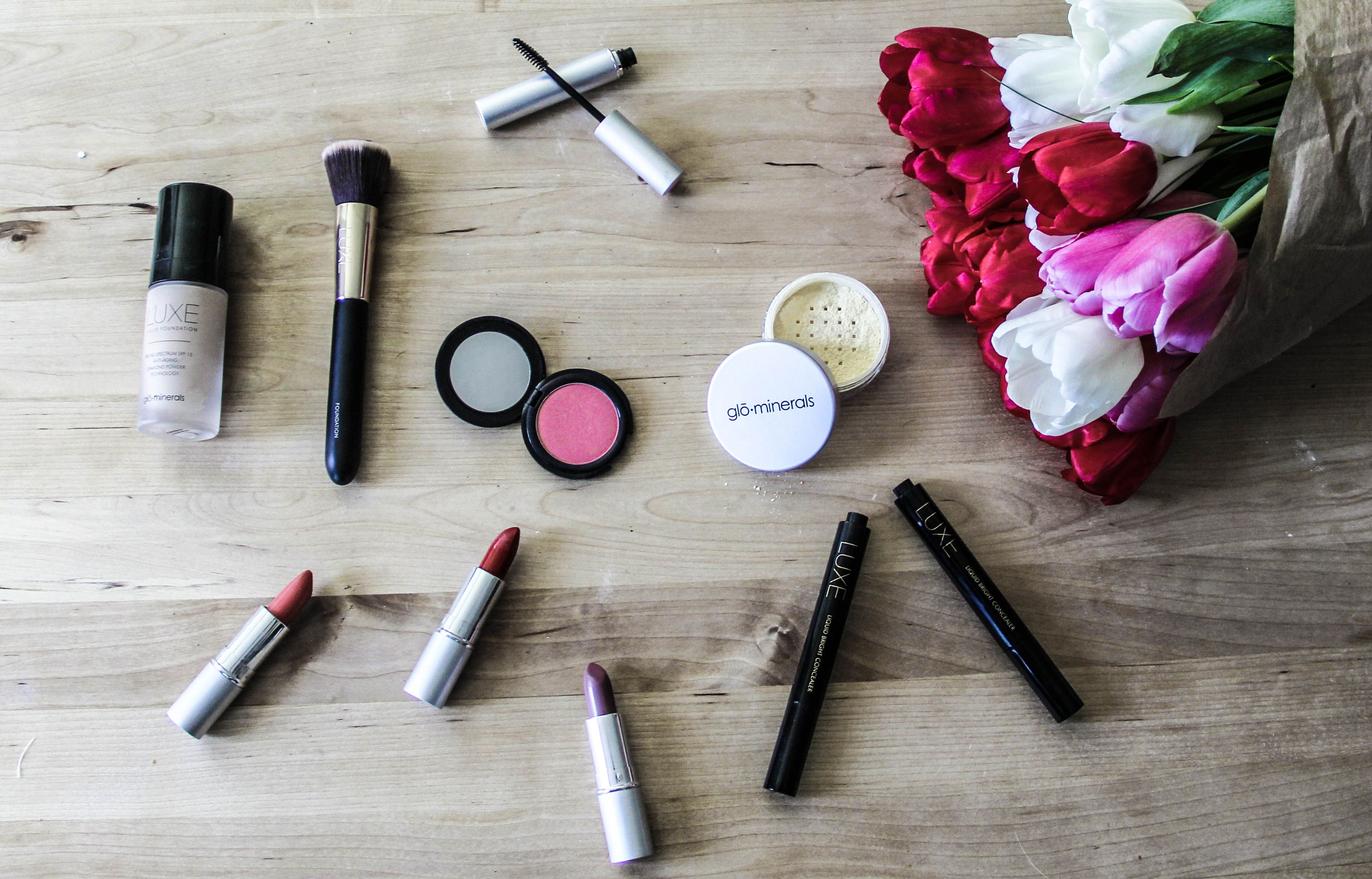 GloMinerals Review on the blog. Use the promo code