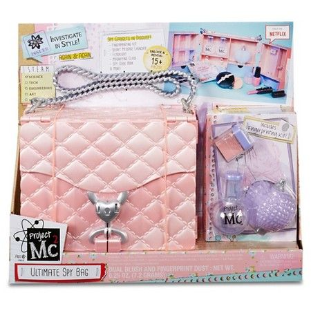 One each for Allie and Livvy? Both want this. If they have different bag colors, maybe? Project Mc2 Ultimate Spy Bag : Target