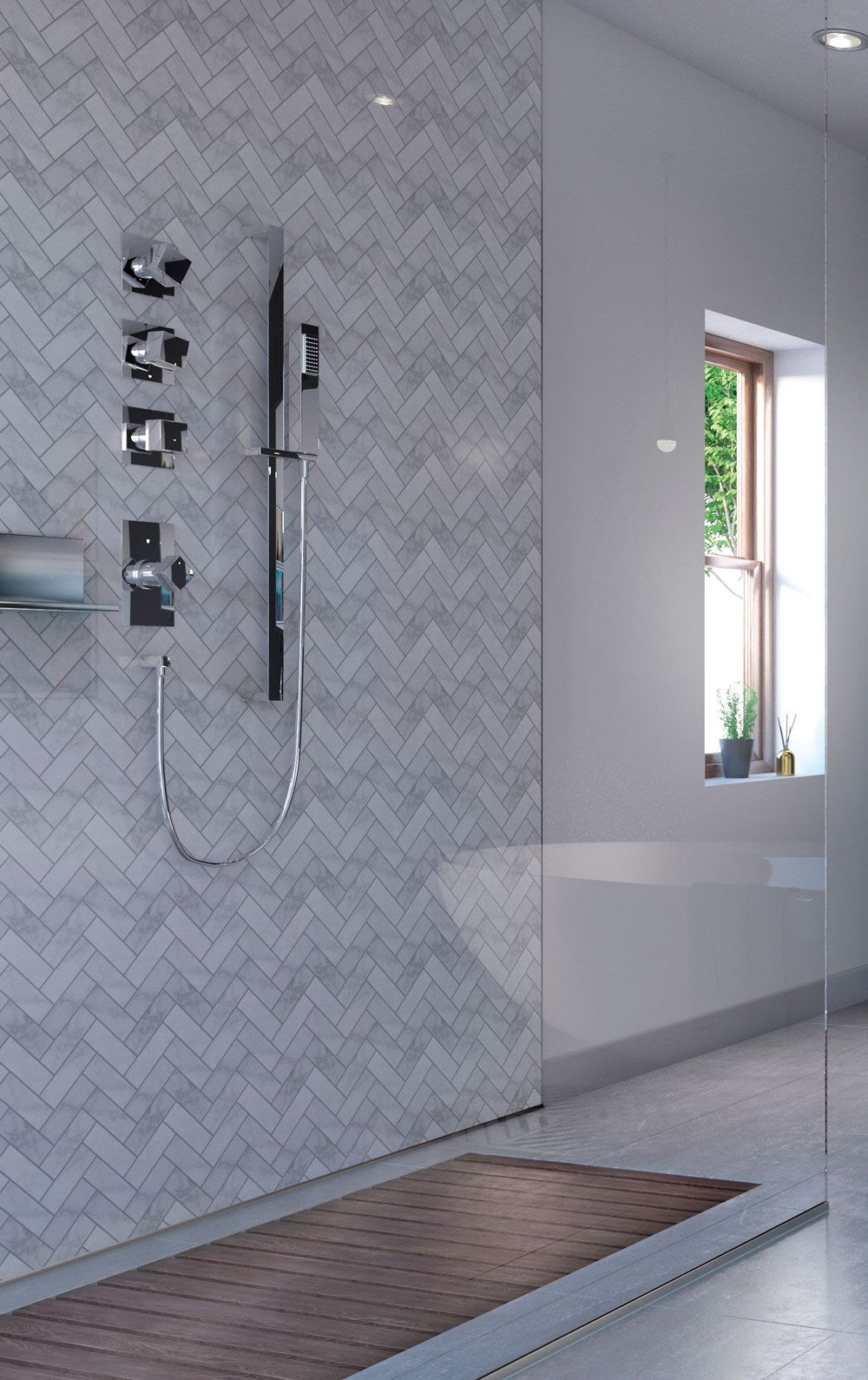Quick Easy Alternative To Tiling Your Bathroom Bathroom Wall Panels Bathroom Design Luxury Creative Bathroom Design