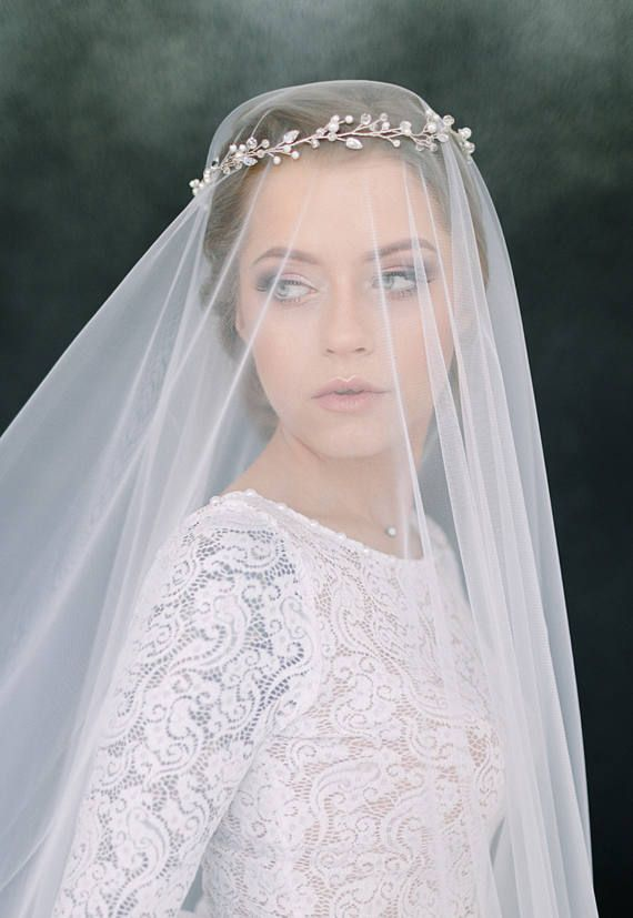 Wedding Veil Bridal Veil Drop Veil Circle Veil Long Veil