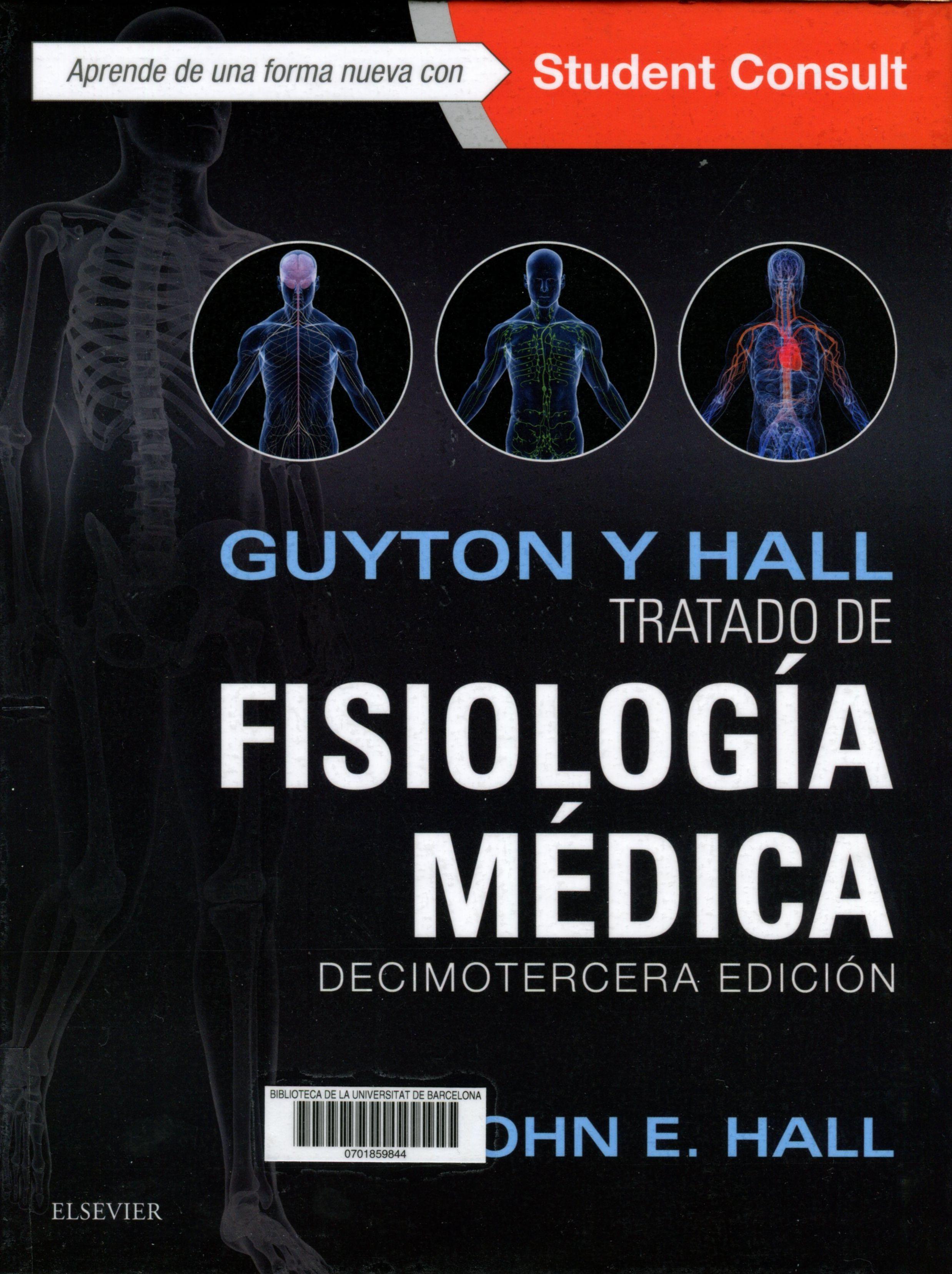 Tratado de fisiología médica : decimotercera edición : Guyton y Hall ...