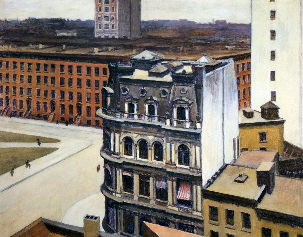 The City (1927) / by Edward Hopper