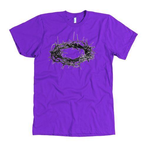 Custom Designer Jesus Christ Thorn Crown T-Shirt Mens