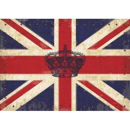 Royal Union Jack Canvas Art - Sam Appleman (18 x 24)