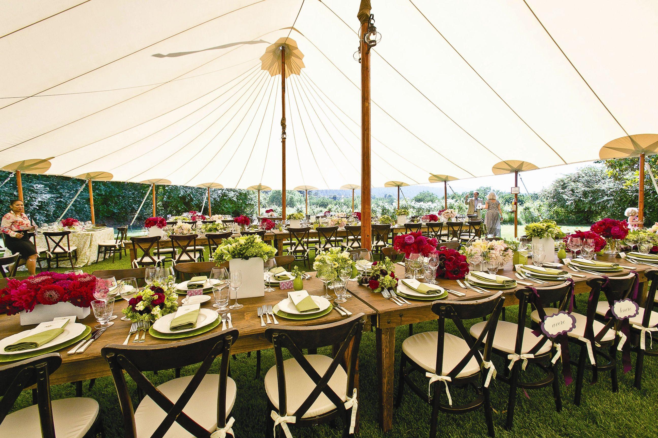 Marissa Matthew In Santa Rosa California Tent Reception Wedding Website Free Reception